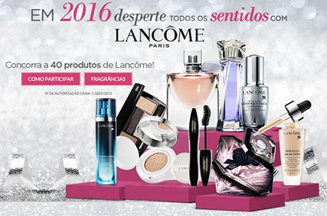 Promoção Sépha Em 2016 desperte todos os sentidos com Lancôme