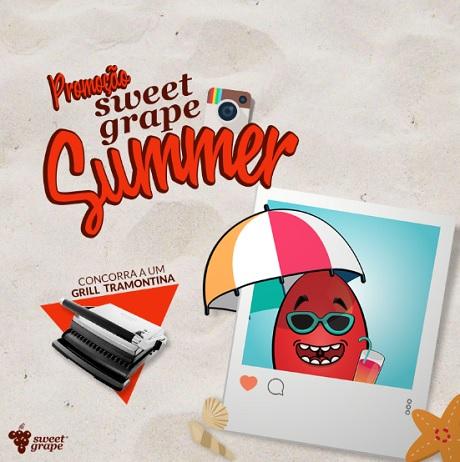 Promoção Sweet Grape Summer