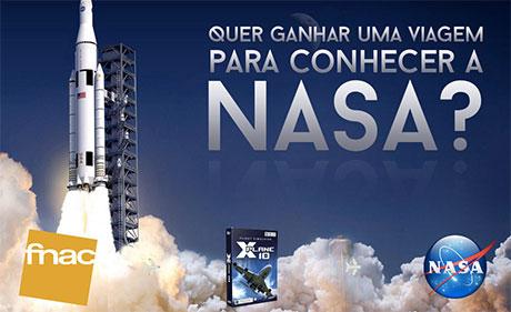 Promoção X-Plane e FNAC levam você à NASA