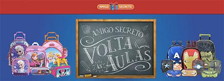 Promoção Amigo Secreto Disney Volta às Aulas