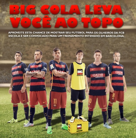 Promoção Big Football Talent