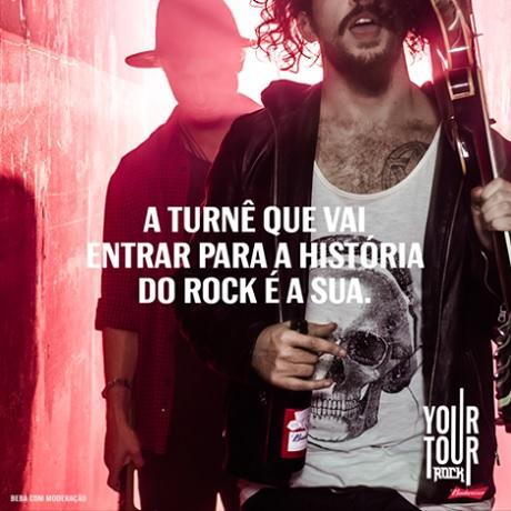 Promoção Budweiser Your Tour Rock