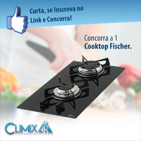 Promoção Climix Ar Condicionado Ganhe um Cooktop Fischer
