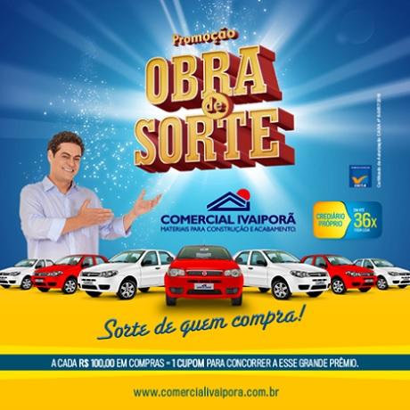 Promoção Comercial Ivaiporã Obra de Sorte