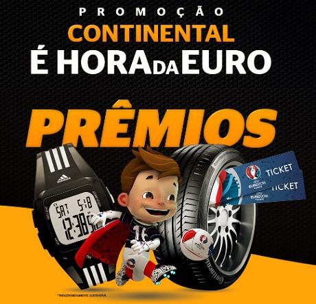 Promoção Continental Pneus Hora da Euro