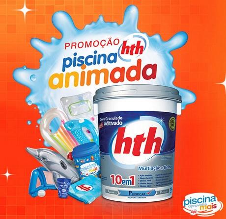 Promoção Piscina Animada HTH