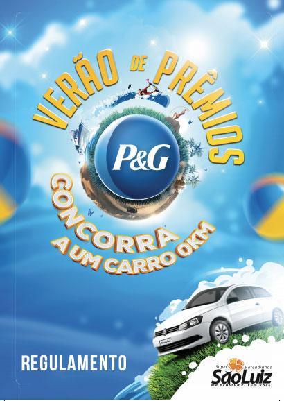 Promoção Verão de Prêmios P&G e Mercadinho São Luiz