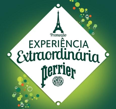 Promoção Experiência Extraordinária Perrier