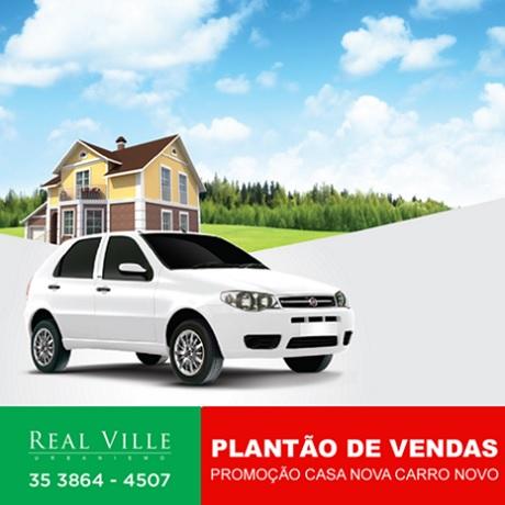 Promoção Real Ville Urbanismo Casa Nova Carro Novo