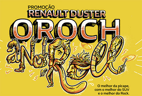 Promoção Renault Oroch and Roll