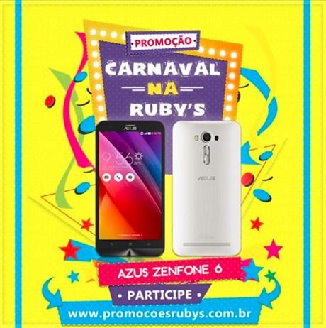 Promoção Mês do Carnaval na Ruby's