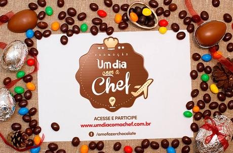 Promoção Selecta Chocolates Um Dia com a Chef