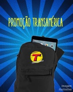 Promoção Transamérica FM Mochila com iPad Mini