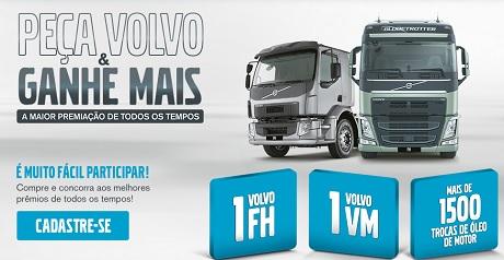 Promoção Peça Volvo e Ganhe Mais