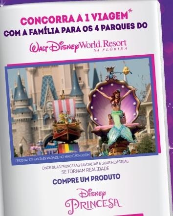 Promoção Capricho e Walt Disney História de Princesa Disney