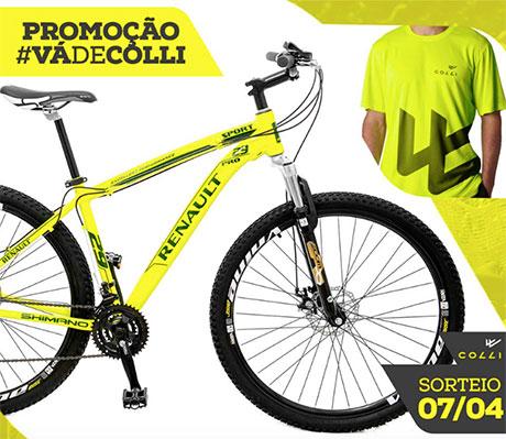 Promoção Vá de Colli Bikes