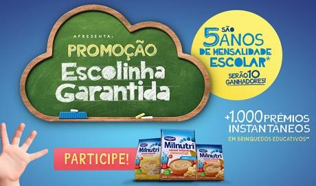 Promoção Escolinha Garantida Danone Milnutri Cereal Infantil