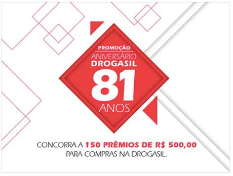 Promoção Aniversário Drogasil 81 anos