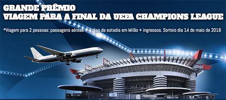 Promoção A Globo e Você na UEFA Champions League