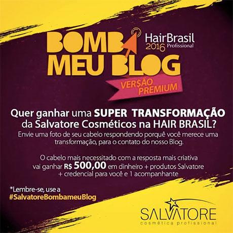 Promoção Gloss Rosa Bomba meu Blog