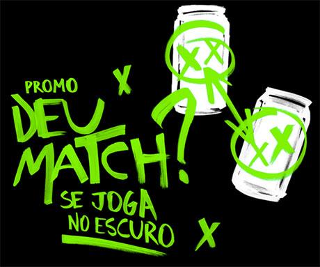 Promoção Guaraná Antarctica Black Deu Match? Se Joga no Escuro