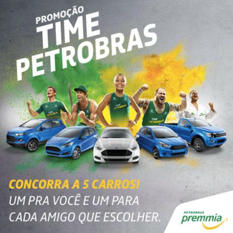 Promoção Time Petrobras