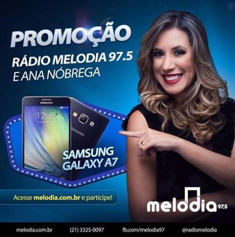 Promoção Melodia e Ana Nóbrega Quer ganhar um super smartphone