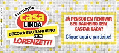 Promoção Revista Casa Linda Decora