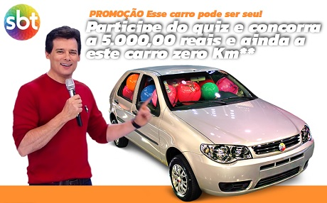 Promoção SBT Esse carro pode ser seu