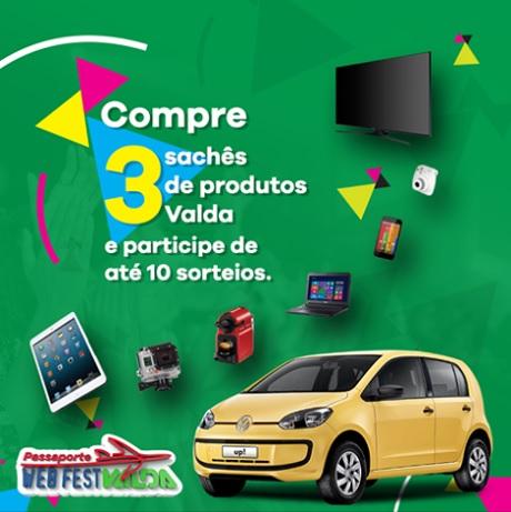 Promoção Passaporte Web Fest Valda