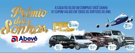 Promoção Prêmio dos Sonhos Abevê Supermercados