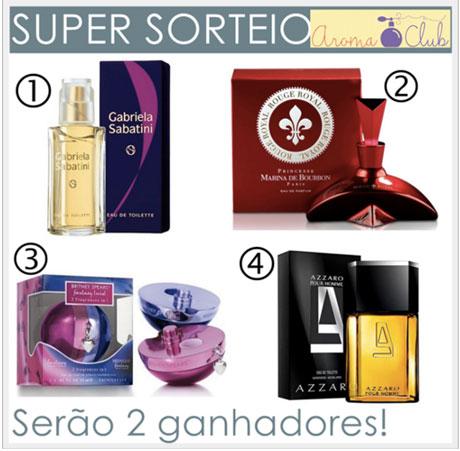 Promoção Super Sorteio AromaClub