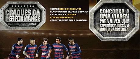 Promoção Black & Decker Craques da Performance