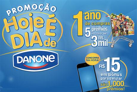 Promoção Hoje é dia de Danone