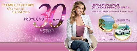 Promoção Dermacyd 30 Anos