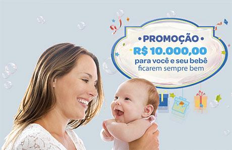 Promoção Johnson's e Panvel R$ 10.000,00 para você e seu bebê ficarem sempre bem.