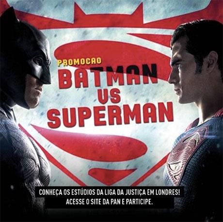 Promoção Warner e Jovem Pan Batman vs Superman, de que lado você está?