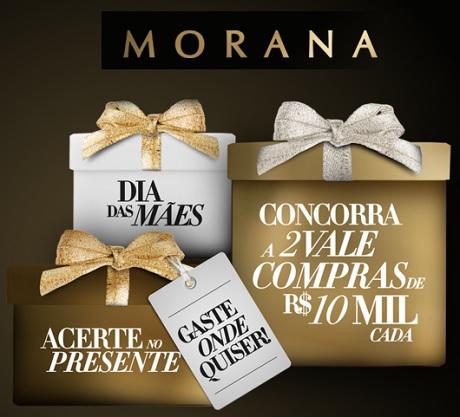 Promoção Dia das Mães Morana Acerte no Presente