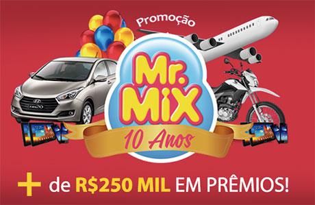 Promoção 10 Anos Mr. Mix