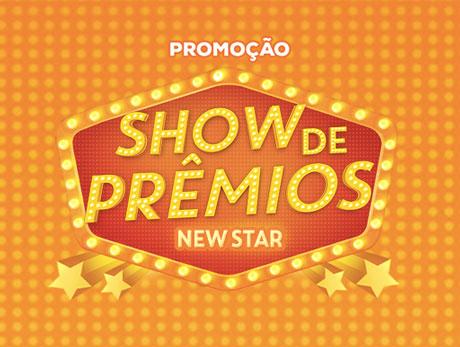 Promoção Show de Prêmios New Star Folheados