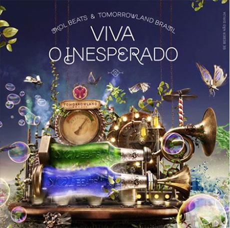 Promoção Skol Beats e Tomorrowland Brasil Viva o Inesperado