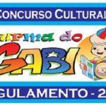 Concurso Cultural Da Turma do Gabi – Desenho