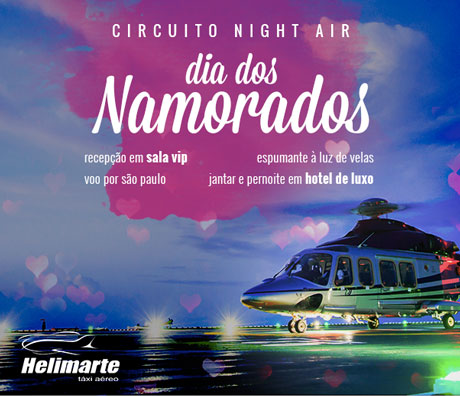 Promoção Antena 1 Circuito Night Air Dia dos Namorados