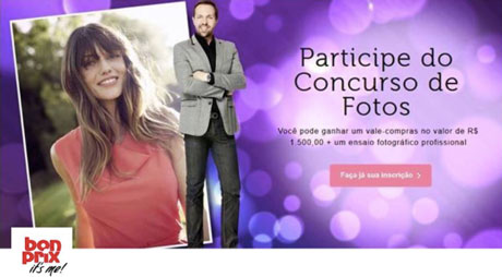 Concurso de Fotografia da Bonprix
