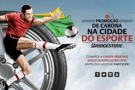 Promoção Bridgestone De Carona na Cidade do Esporte