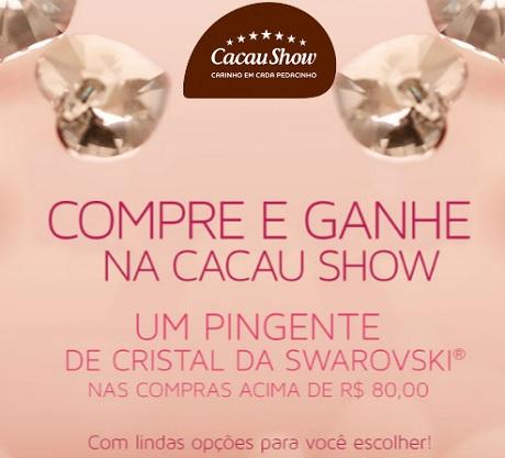 Promoção Dia dos Namorados Cacau Show