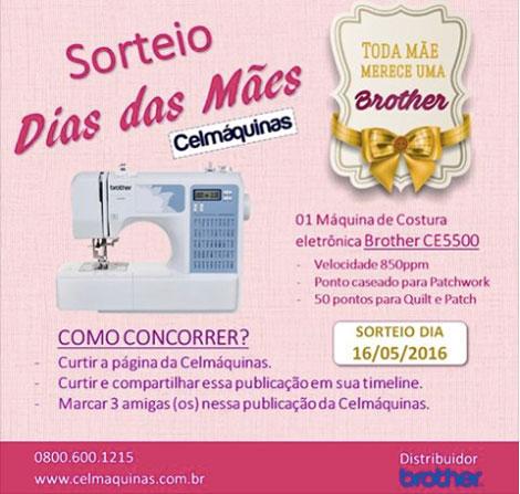 Promoção Dia das Mães Celmáquinas