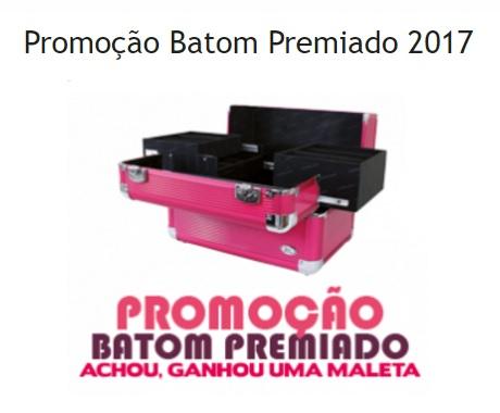 Promoção Facinatus Batom Premiado