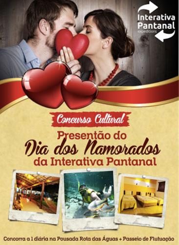 Promoção Interativa Pantanal Presentão do Dia dos Namorados