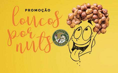 Promoção Nutty Bavarian Loucos Por Nuts